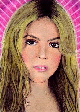 Shakira por ShaniaMarie